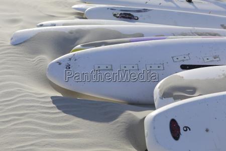 deutschland niedersachsen ostfriesland langeoog surfbretter am