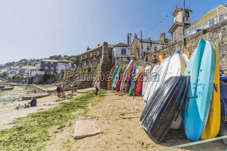 uk cornwall mousehole tablas de surf