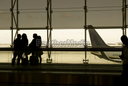 spain barcelona tour group waiting at