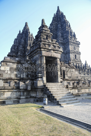 indonesia java buildings in the temple