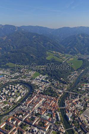austria styria leoben mur river river