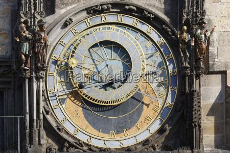 prag rathausturm astronomische uhr