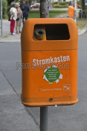 germany berlin germany berlin orange waste