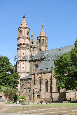 germany rhineland palatinate worms cathedral of