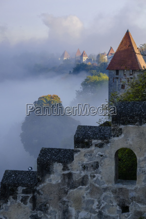 germany bavaria burghausen view from the