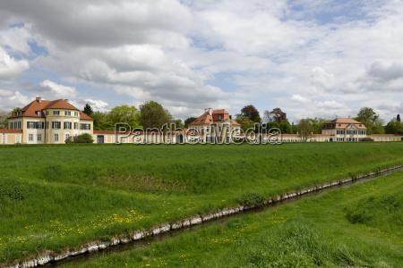 germany munich view of nymphenburg palace