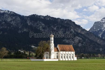 germany bavaria swabia schwangau view to