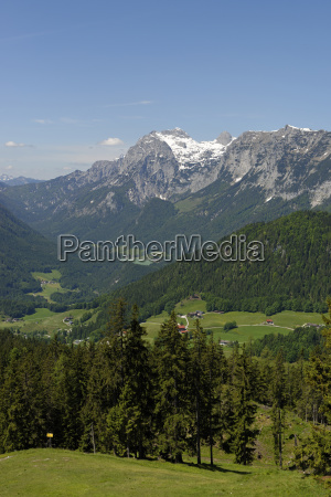 germany bavaria berchtesgaden alps near by