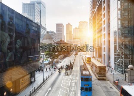 china hong kong verkehr in zentral
