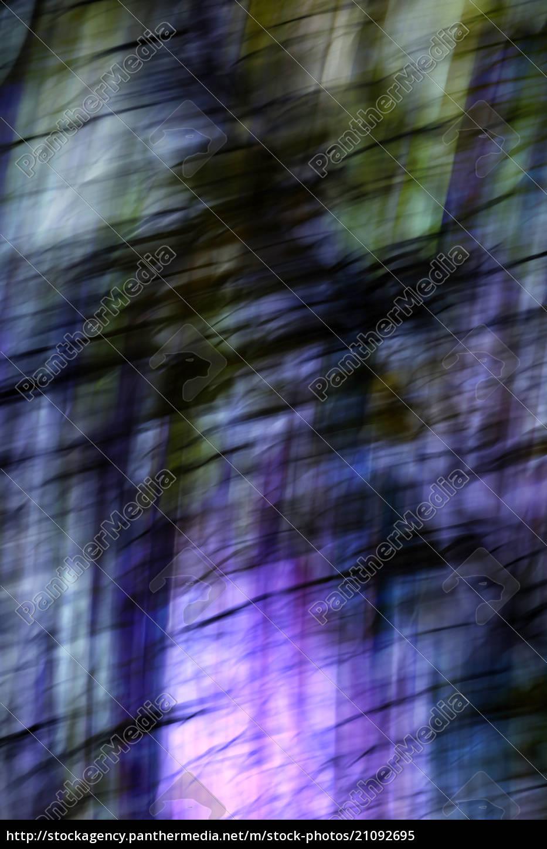 bäume, abstrakt, digital, manipuliert - 21092695