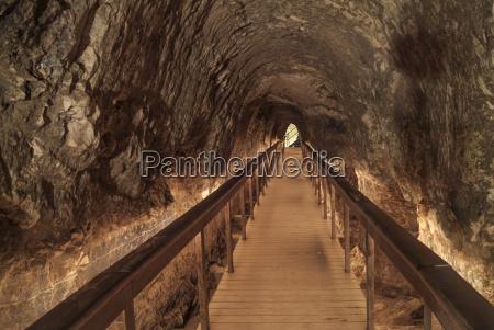 israel megiddo rock tunnel irrigation system