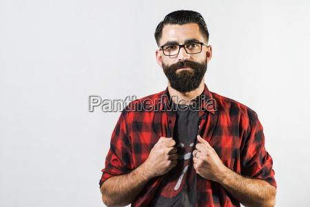 portrait portraet potrait brille augenglaeser nasenfahrrad