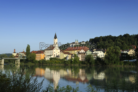 germany bavaria view of st gertraud