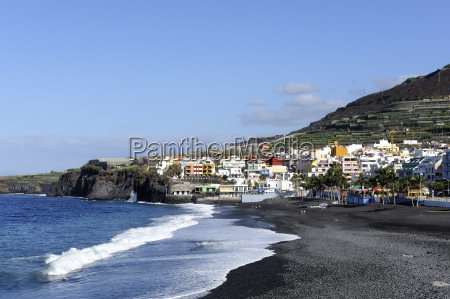 spain canary islands view of houses