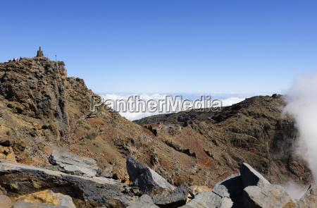 spain canary islands view of caldera