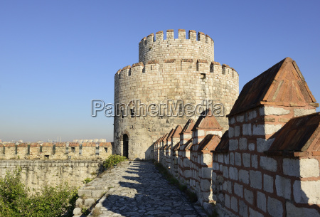 turkey istanbul view of fortress of
