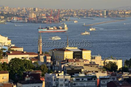 turkey istanbul view of marmara sea