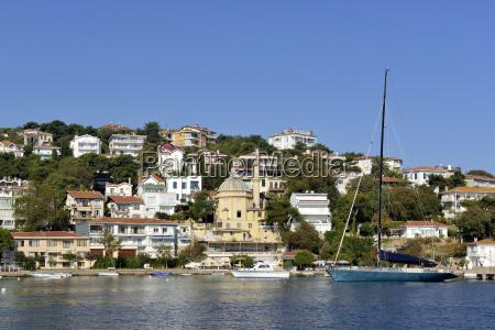 turkey istanbul view of burgazada island