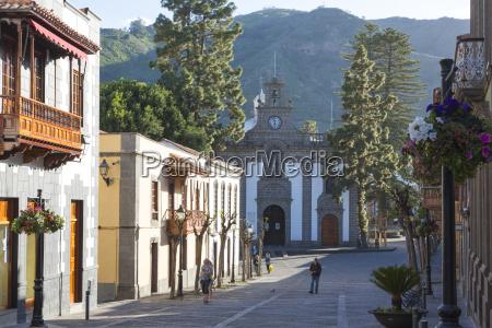 spanien kanarische insel ansicht von basilica