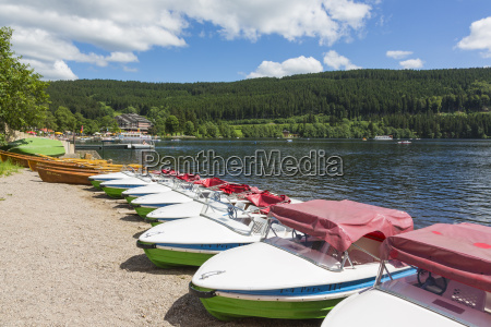 germany baden wuerttemberg view of boats