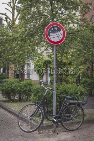 amsterdam verbotsschild rauchverbot