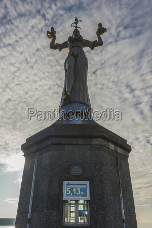 germany constance imperia statue at the