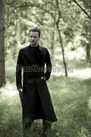 germany bavaria mid adult man standing