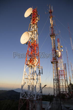indonesien java antennenmast