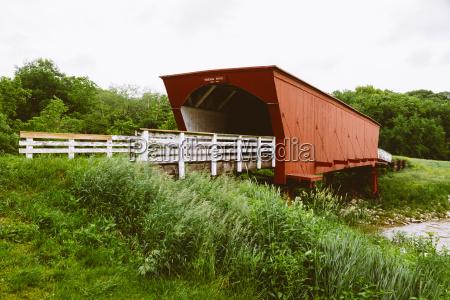 usa iowa madison county roseman bridge