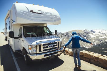 usa colorado rocky mountain national park