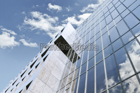 germany duesseldorf modern business building against