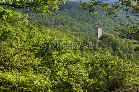 germany rhineland palatinate view of laurenburg