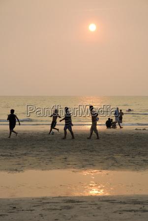asien thailand koh chang fussball auf
