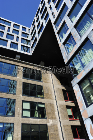 netherlands amsterdam view of modern architecture