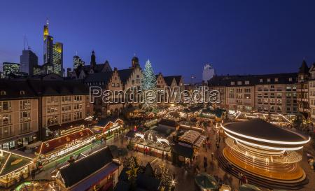 germany hesse frankfurt christmas market