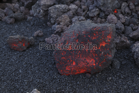 iceland view of lava rock from