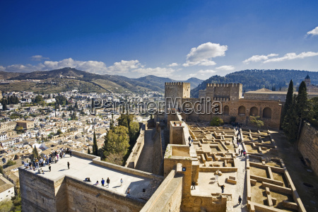 spain andalusia view of province of