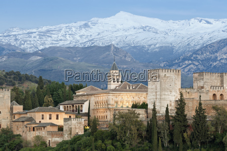 spain andalusia granada view from tower