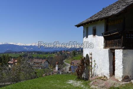 italy south tyrol ritten wolfsgruben near