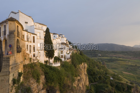 spain andalusia view of ronda seen
