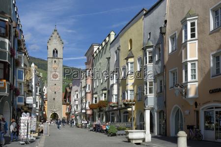italy south tyrol sterzing zwoelferturm in