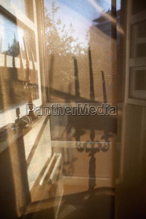 vindue refleksion sollys tyskland den tyske