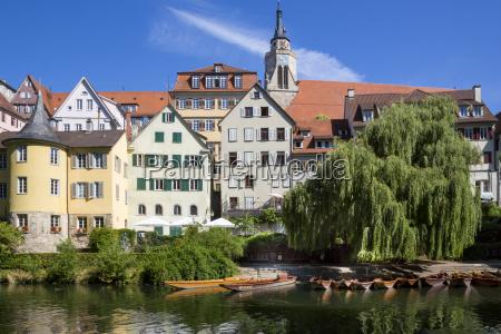 germany baden wuerttemberg tuebingen hoelderlin tower