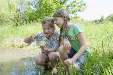 germany bavaria munich girls playing at