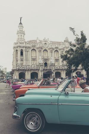 cuba havana view to great theatre