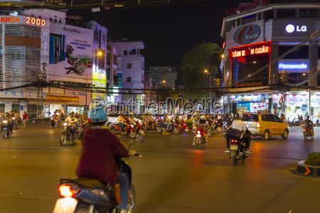 vietnam ho chi minh city road