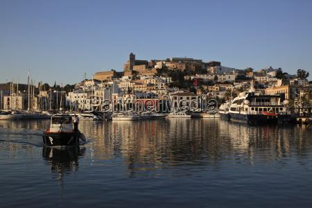 spain ibiza harbour of ibiza city