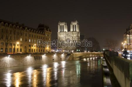 france paris view of notre dame
