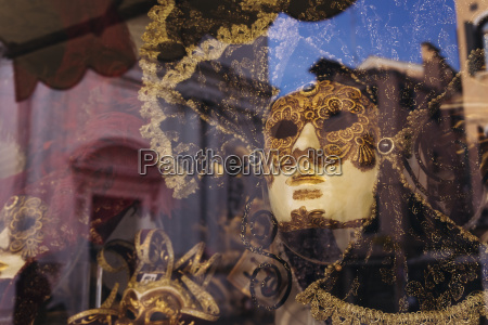 karnevalsmaske in venedig