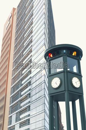 germany berlin reconstructed historic traffic light